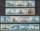 1983-84 TURKS & CAICOS ISLANDS, PERF14, SHORT SET/14 #578a-592a, VF, SHORT #589a