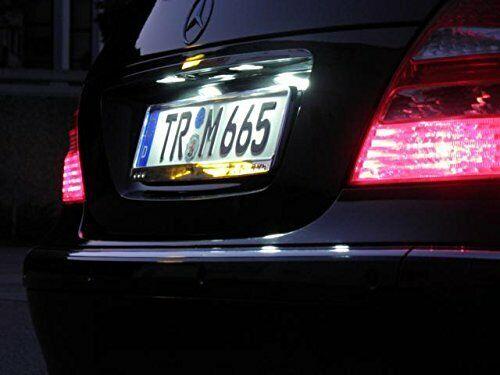 504 2x top LED SMD iluminación de la matrícula renault scenic III//Grand Scenic III