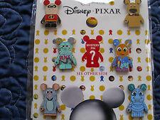 Disney * VINYLMATION - PIXAR #1 * 7-Pin Booster Set w/ Mystery Chaser