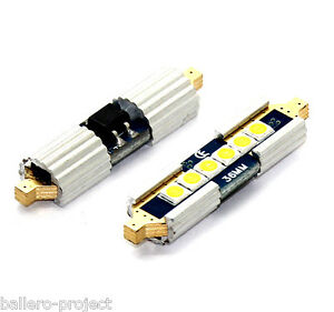 1x-LAMPE-SOFFITTE-42mm-6x3030-Samsung-smd-CANBUS-CE-XENON-WEISS-12V-1-STUCK