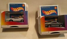 HOT WHEELS, special edition, Lexmark.  GTO, Silver and White.  2 pcs total