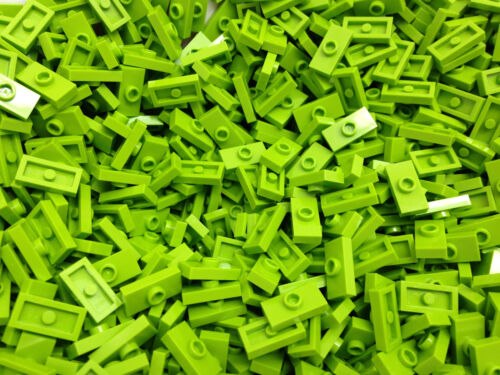 LEGO 15573 3794-VERDE PIASTRA 1x2 W 1 Manopola 15 pezzi per ordine