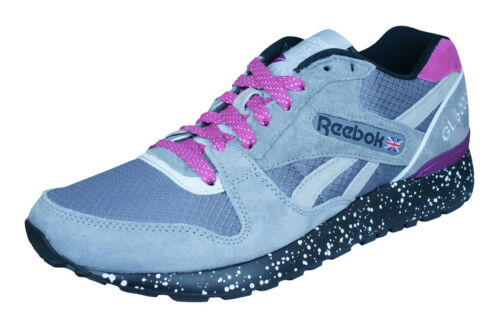 Reebok Classic GL 6000 Trail Mens Sneakers Casual Retro Sports Shoes Gray Pink