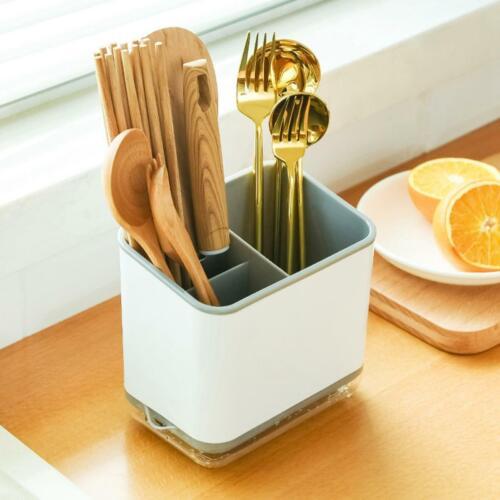 Multifunctional Spoon Chopstick  Storage Holder Box Cutlery Drain Rack Organizer