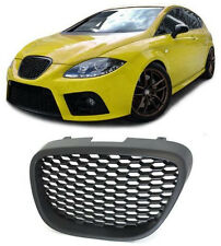 Front BLACK grill sports radiator grille for Seat Altea Toledo 5P Leon 1P