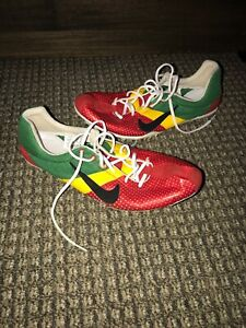 7240a28cb02a Nike Zoom Miler Track   Field Size 11 Shoe Mens Spike Red Yellow ...