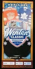 2014 Winter Classic Commemorative Ticket Detroit Redwings vs Toronto Maple Leafs