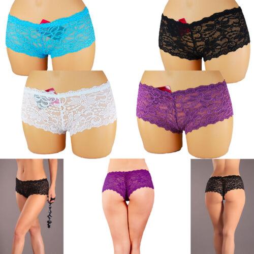 Damen Slips Slip Pants panties Hotpants String Dessous Panty 5713