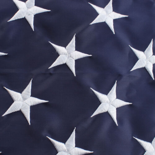 3x5 ft American Flag USA US U.S Embroidered Stars Sewn Stripes Brass Grommets