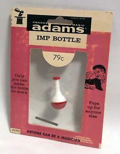 S-S-ADAMS-IMP-BOTTLE-1960s-Vintage-Magic-Trick