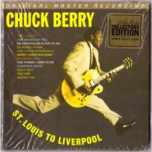 CHUCK-BERRY-Is-On-Top-St-Louis-Liverpool-CD-MFSL-24K-Gold-Numbered-Mini-LP-Slv