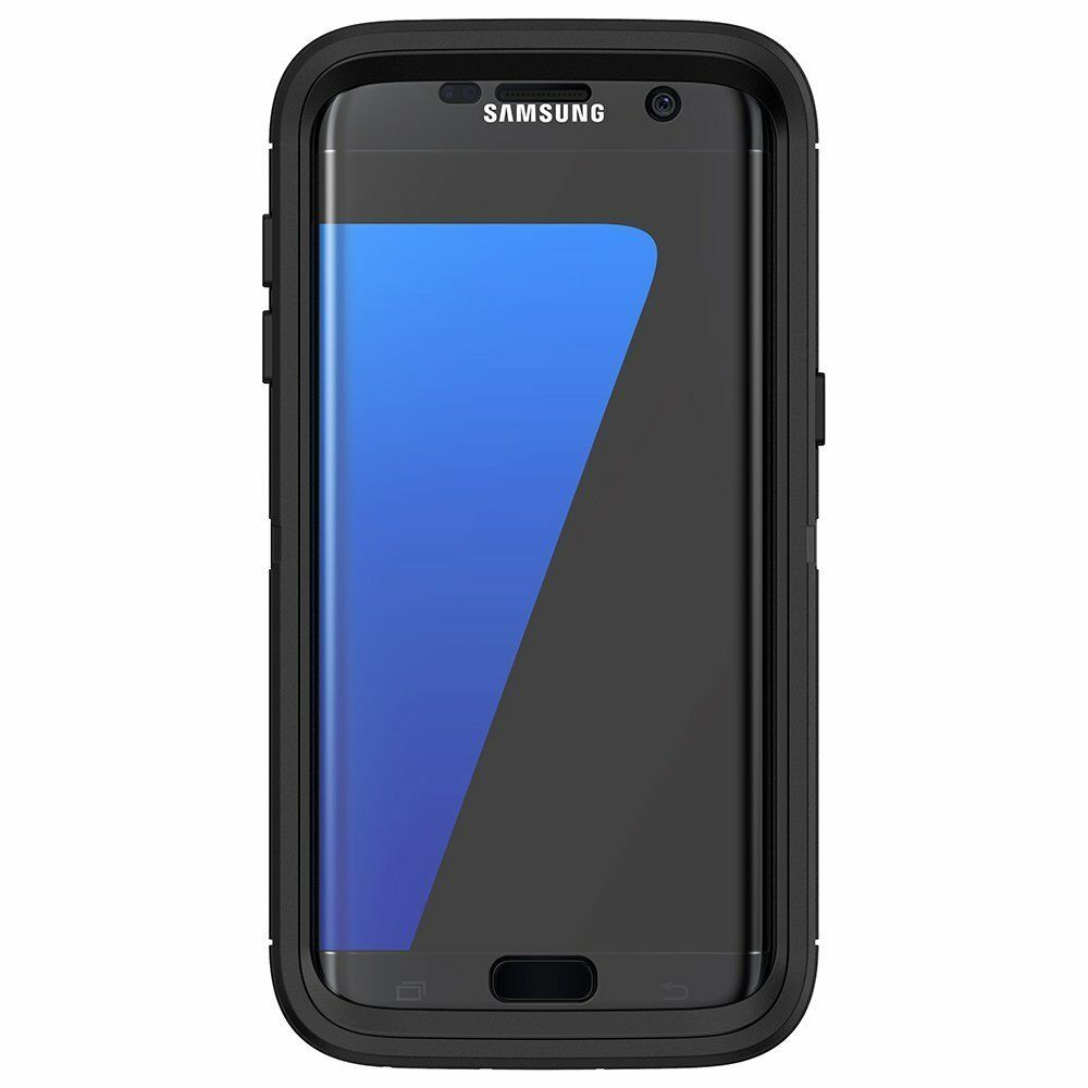 new concept 1d114 89517 OtterBox Defender 77-52977 Case for Samsung Galaxy S7 Edge - Black