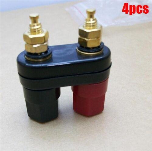 4 Pairs Amplifier Terminal Binding Post Banana Plug Jack lm