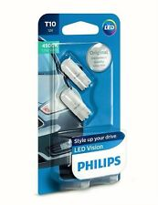 Philips Vision LED W5W T10 127914000KB2 Pure White 4500K 12V w2.1x9.5d (2 pc)
