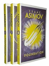 The Foundation Trilogy Books by Isaac Asimov SF Series Saga Collection Set New