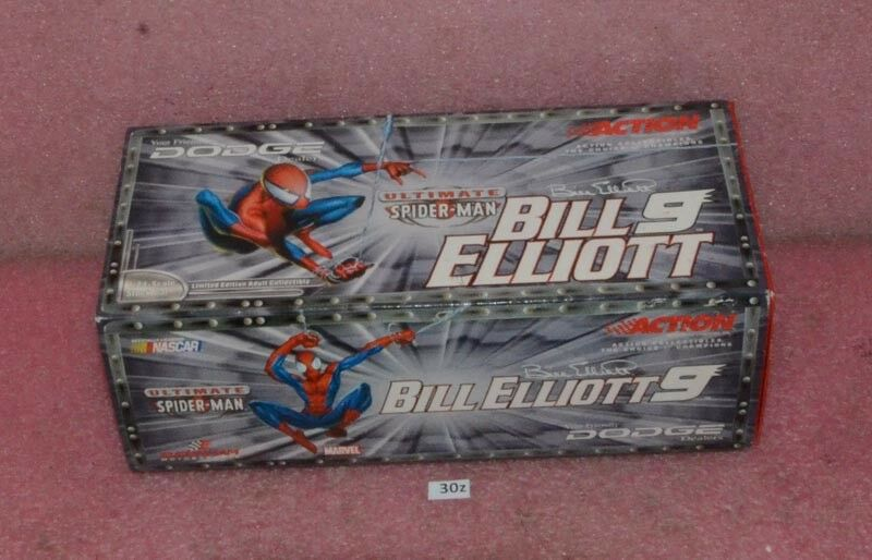 Action 2001 Bill Elliott  9 Dodge  Intrepid R/T Spider-Man 1:24 Scale.