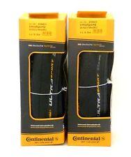 Continental Ultra Sport II Folding Black PAIR 700 x 25c