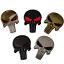 Metal-3D-Punisher-Skull-Car-Emblem-Decals-Auto-Motorcycle-Body-Stickers-Badge miniature 2