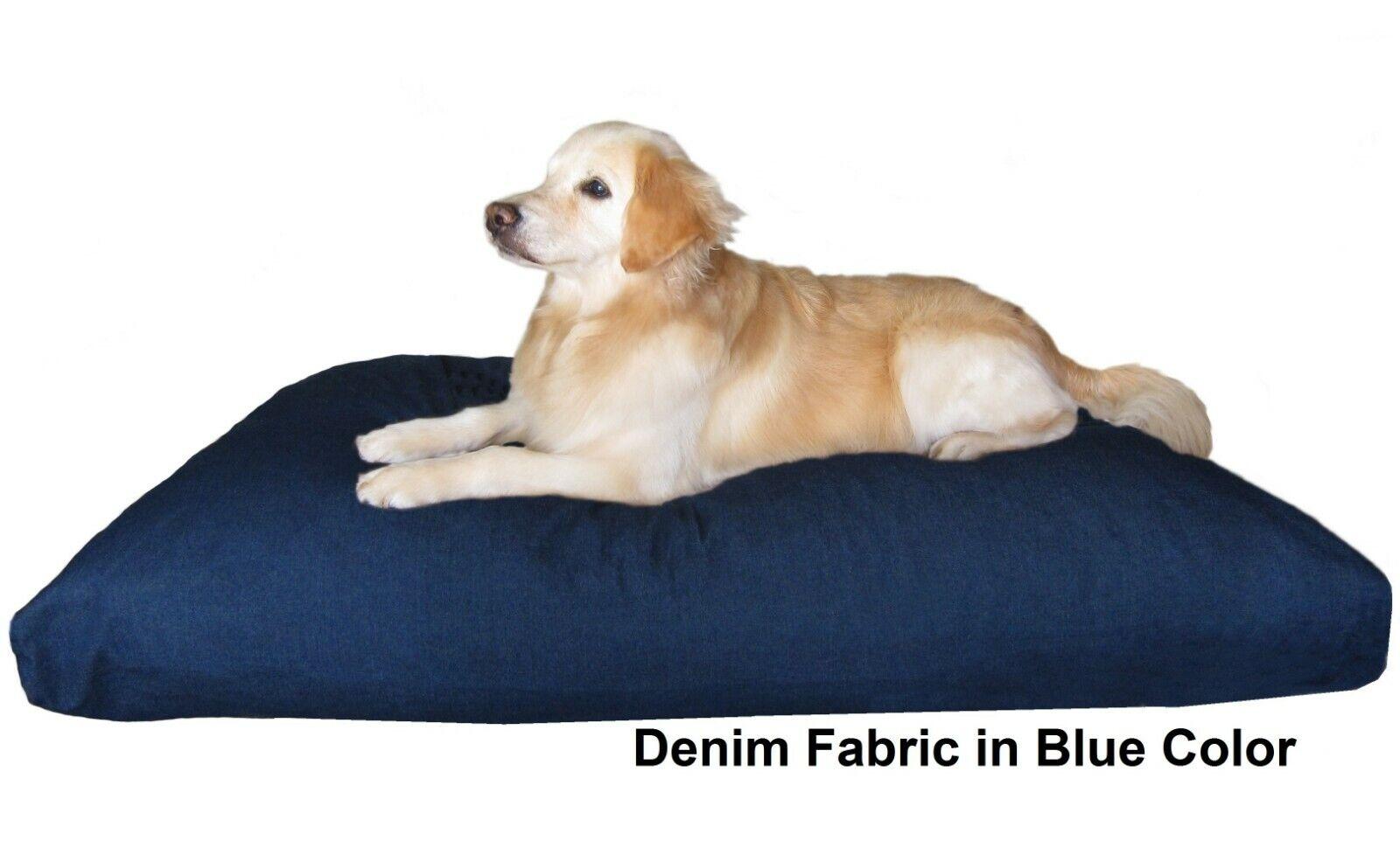 Jumbo Durable Orthopädische Haustier Bed Waterproof Mix Memory Foam 55X47 Große Kissen
