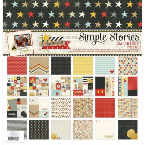 Simple Stories ~ SAY CHEESE II ~ Collection Kit ~ Disney