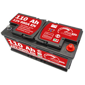 Batteria-Auto-Speed-L6-110Ah-950A-spunto-12V-positivo-a-destra-DX-VW-Audi-BMW