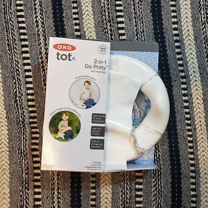 OXO-Tot-2-in-1-Go-Potty-for-Travel-Aqua-Open-Box