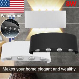 8W-Modern-LED-Wall-Lamp-Room-Indoor-Outdoor-Sconce-Light-Bedside-Lamp-Waterproof