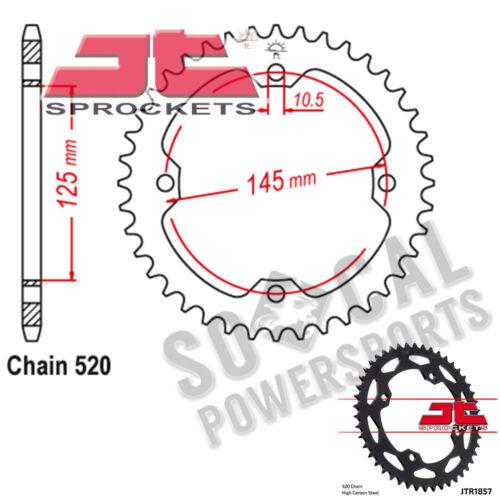 2007-2008 JT Sprockets Steel Rear Sprocket 520 Pitch 40 Tooth Yamaha YFZ450 SE