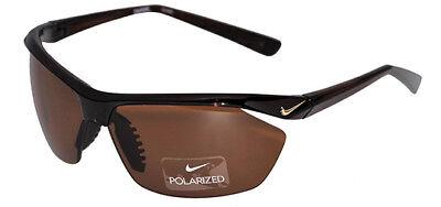 Nike Tailwind P Polarized Men's Shiny Brown Sunglasses EV0752 200