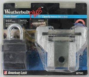 NEW-American-Lock-Weatherbuilt-Trailer-Tongue-Lock-1-7-8-034-Capacity-80THC