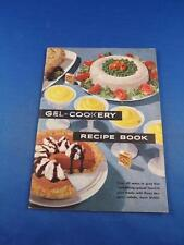 GEL COOKERY RECIPE BOOK KNOX GELATINE ADVERTISING CHEESE CAKE PIES CANDY