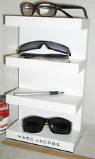 Used Marc Jacobs Eyewear Eyeglass Store Advertising 4 Tier Display Stand Shelf