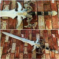 FULL SIZE WoW WarCraft Arthas Menethil  Frostmourne Sword Foam CosPlay Larp UK
