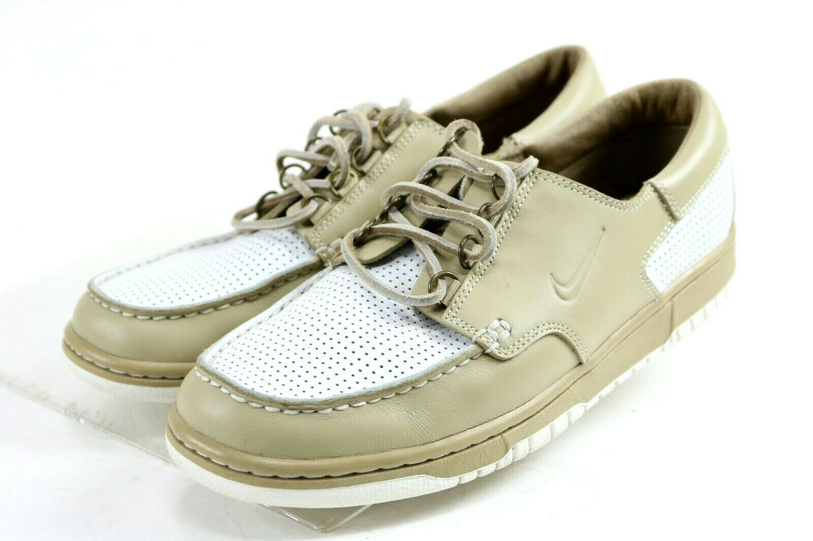 Nike Mad Jibe 2007  130 Men's Low Junk shoes Size 8.5 Beige White