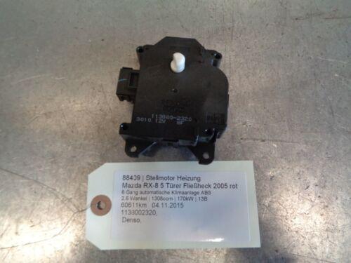 1 of 1 - heater motor Mazda RX-8 1138002320 2.6 Wankel 170kW 13B 88409