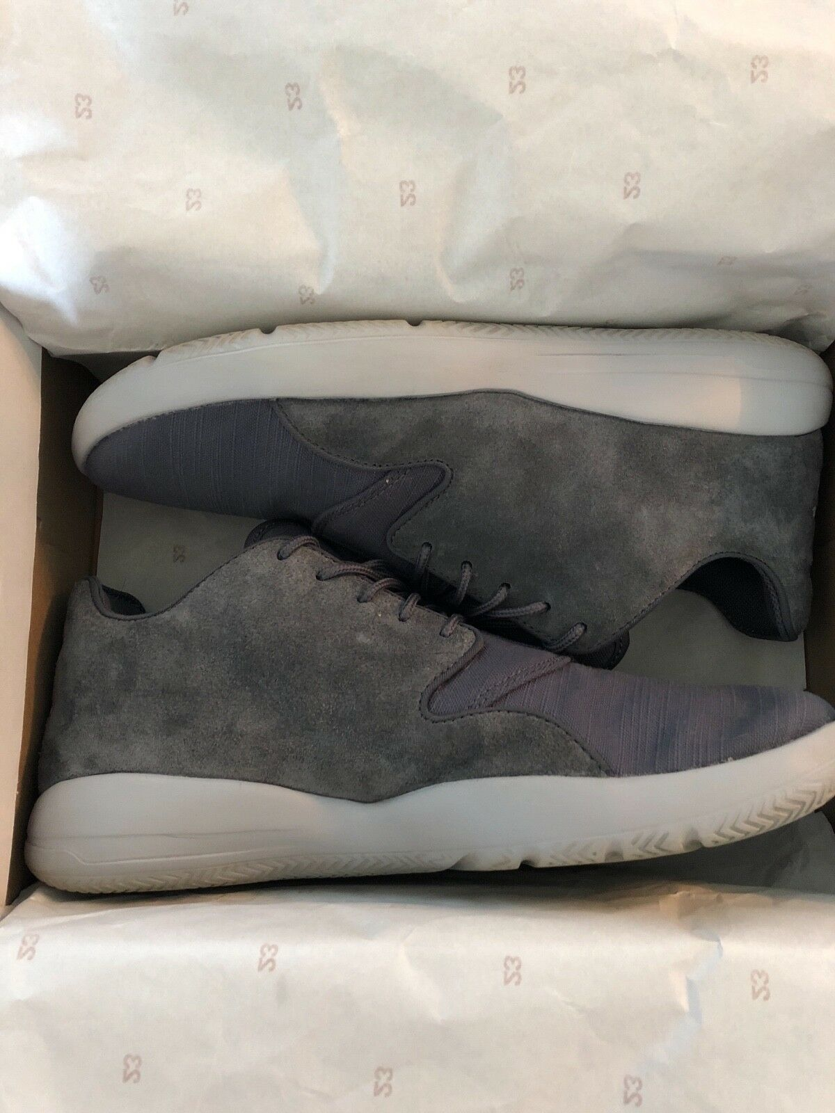 Jordan Eclipse (OffCourt) 8.5 Suede Grey, Used, Mens Size 8.5 (OffCourt) 9ca8ad