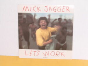 SINGLE-7-034-MICK-JAGGER-LET-039-S-WORK