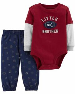 Carters  Infant  Boys 2 Piece Set  Size 6M 9M 18M  NWT