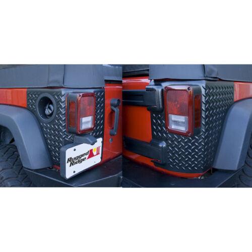 For Jeep Wrangler Jk 07-17 4 Door Body Armor Corner Guards  X 11651.01