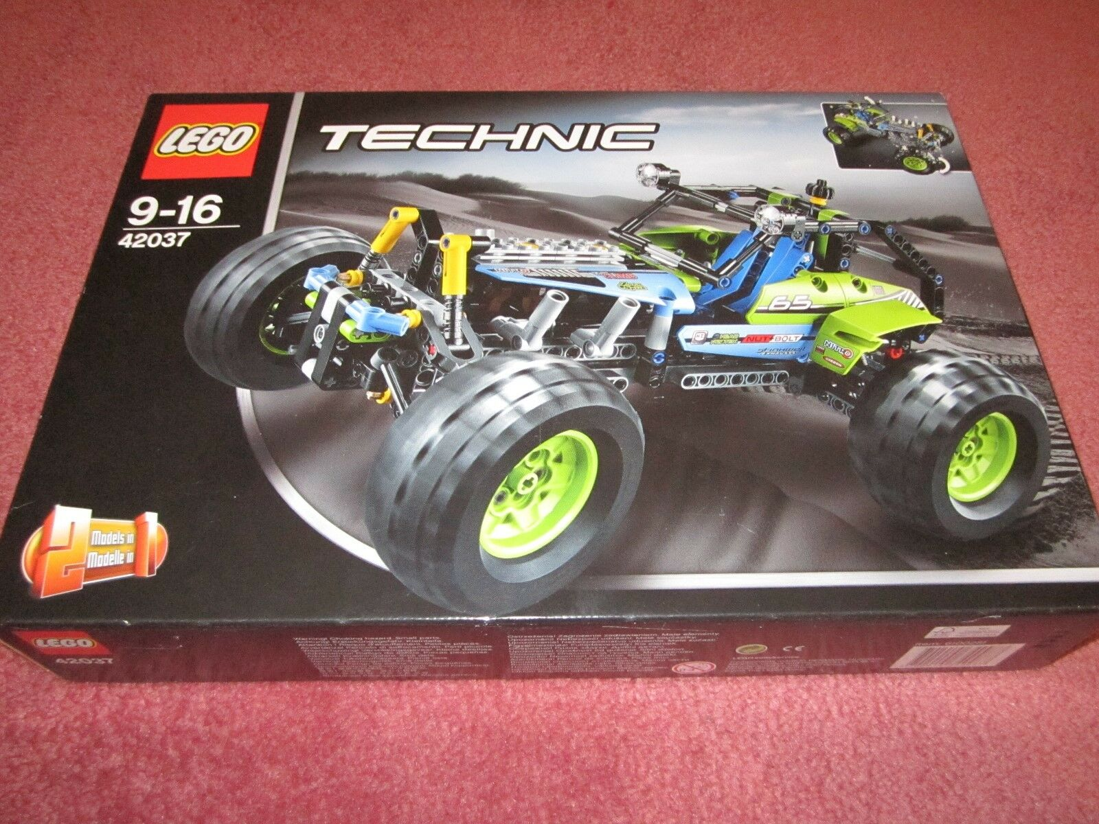 LEGO TECHNIC FORMULA OFF-ROADER 42037 SEE PHOTOS  - - - NEW BOXED SEALED a30999