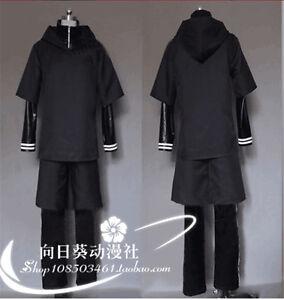 Tokyo-Ghoul-Kaneki-Ken-Uniformes-de-combat-Robe-Cosplay-Costume-de-fete-complets