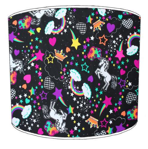 Ideal To Match Unicorn Cushions /& Covers Arthouse Princess Unicorn Lampshades