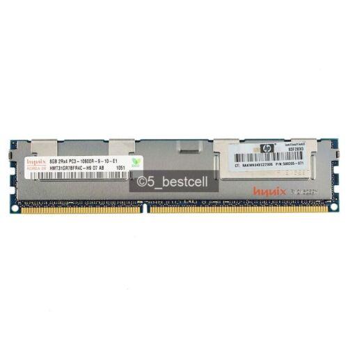 Hynix 32GB 4X 8GB 2Rx4 DDR3 1333 MHz PC3-10600R CL9 ECC Registered RDIMM REG Ram