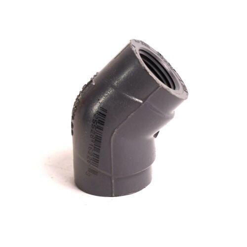 SCH 80 PrimeX 88594 1//2 T x T PVC 45 Elbow