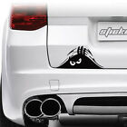 Cute Car SUV Door Window Fenders Rear Trunk Angry Peeking Monster Decal Sticker