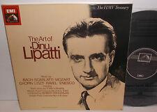 RLS 749 Bach Scarlatti Mozart Ravel Chopin The Art Of Dinu Lipatti 4LP Box Set