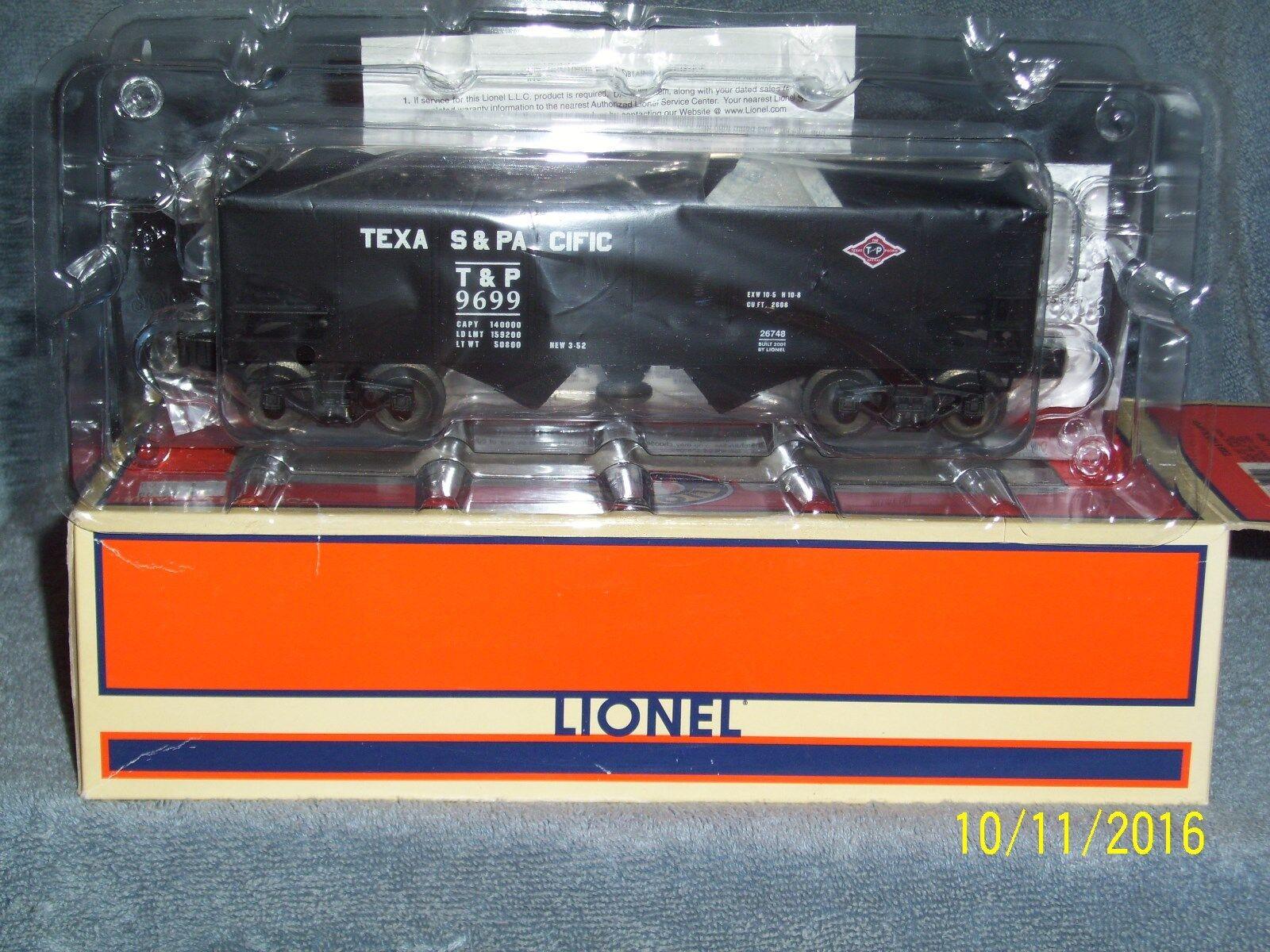 Tu satisfacción es nuestro objetivo Lionel 6-26478 Texas & & & Pacific Tolva  9699  ahorra hasta un 70%