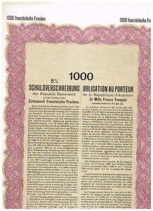 Republik-Osterreich-Wien-1926-1000-franzoesische-Franken-unissued