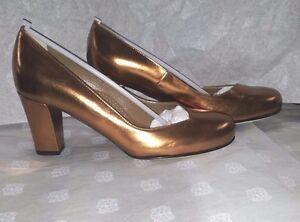 Scarpe-Donna-37-Decollete-Anyi-Lu-Woman-Shoes-Heel-MADE-ITA-Pelle-Tacco-Schuhe