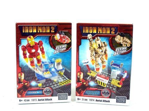 1974 91235 Luftangriff NEU /& OVP 6+ MEGA BLOKS Set Iron Man 2 MARVEL 1973